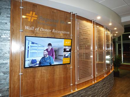 Donor Recognition Regional West Health Services