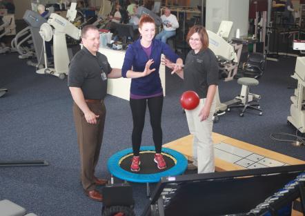 Rehabilitation Center Athletic Trainers
